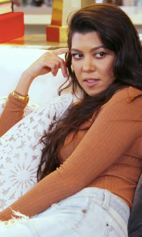 Kourtney Kardashian with Citizens of Humanity Avedon Slick Skinny Jeans in Keeping Up With The Kardashians