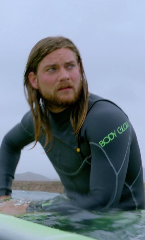 Jake Weary with Body Glove Vapor X Surfing Wetsuit in Animal Kingdom