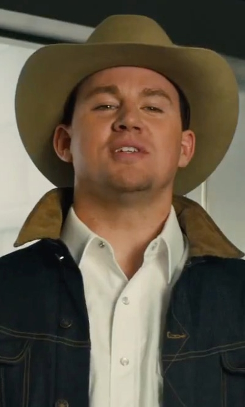 Channing Tatum with Kingsman + Swaine Adeney Brigg Chestnut Wood-Handle Umbrella in Kingsman: The Golden Circle
