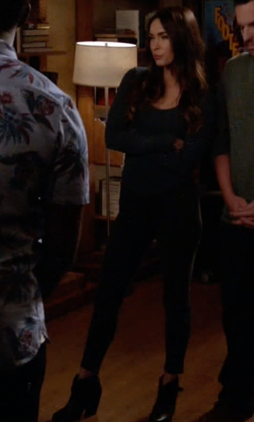 Megan Fox with Rag & Bone Harrow Boots in New Girl