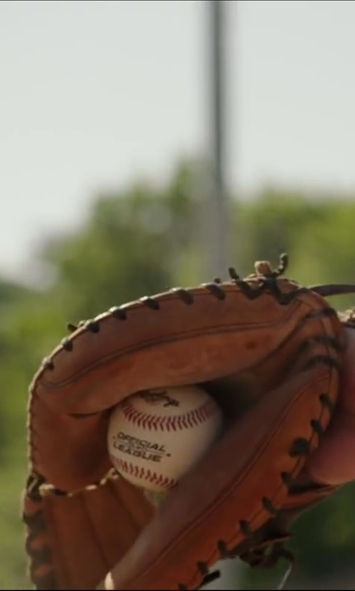 Suraj Sharma with Louisville Slugger Genesis 1884 Baseball Glove in Million Dollar Arm