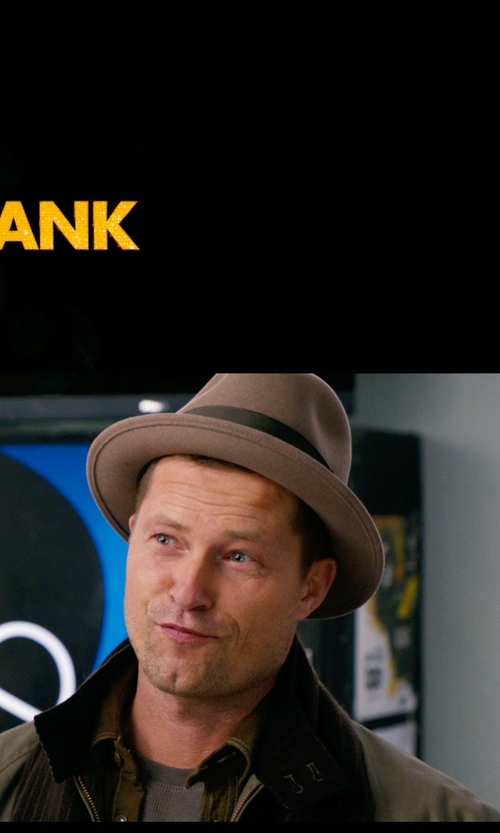 Til Schweiger with Bailey of Hollywood Wynn Fedora in New Year's Eve