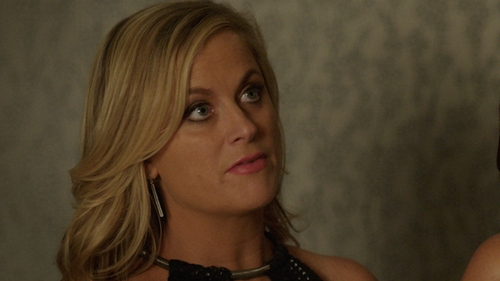 Amy Poehler with Lord & Taylor Marcasite Linear Earrings in Sisters