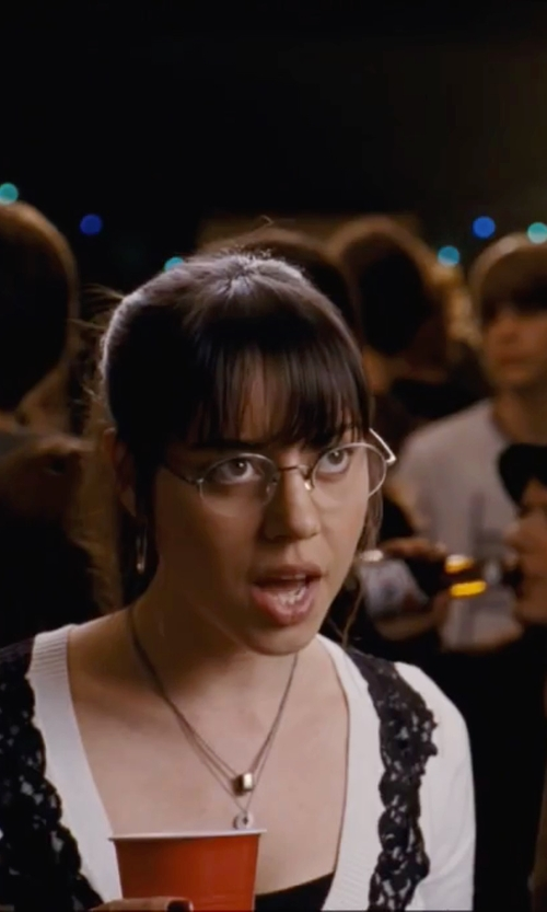 Aubrey Plaza with Guess GU 1675 Eyeglasses in Scott Pilgrim Vs. The World