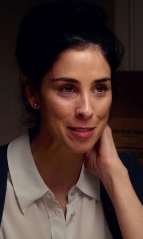 Sarah Silverman with Monsoon Celeste Cardigan in Ashby
