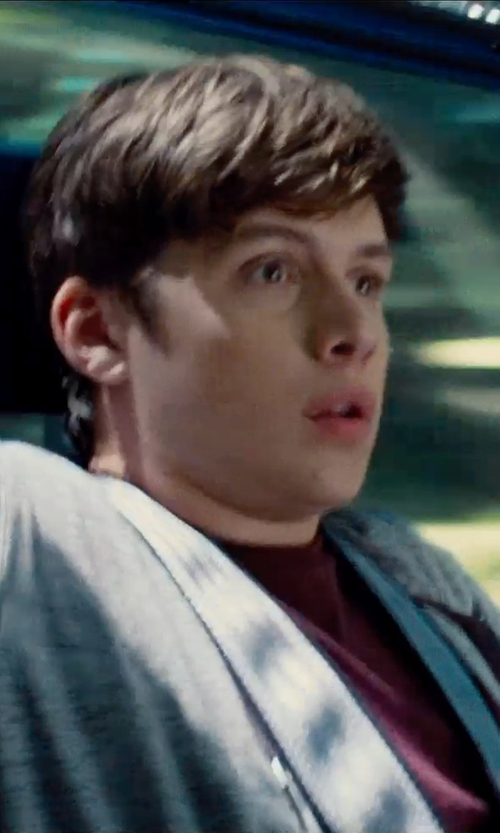 Nick Robinson with Wings + Horns Base Full Zip Hoodie in Jurassic World