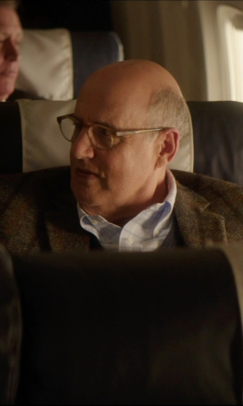 Jeffrey Tambor with 1901 Trim Fit Plaid Dress Shirt in The D Train