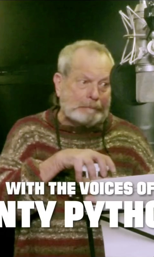 Terry Gilliam with Bellwood Sweater in Absolutely Anything