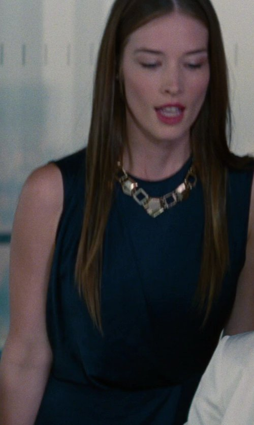 Chelsea Turnbo with A.L.C. Peyton Dress in The Other Woman