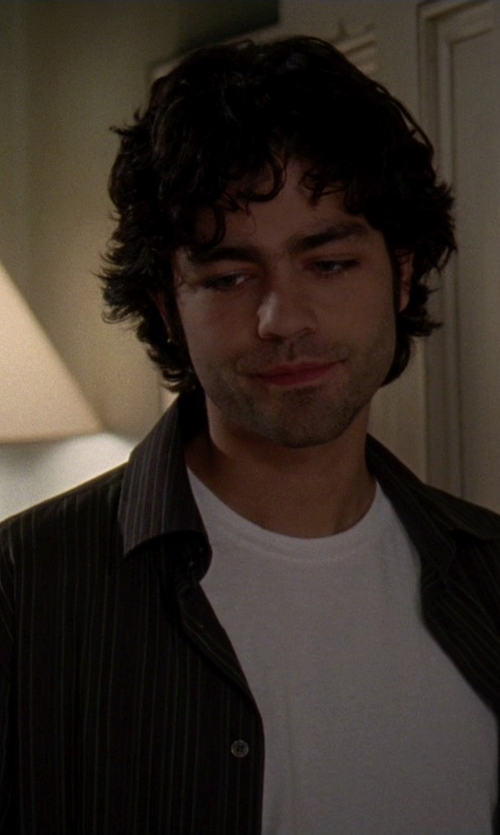 Adrian Grenier with Pendleton Long Sleeve Shirt in The Devil Wears Prada