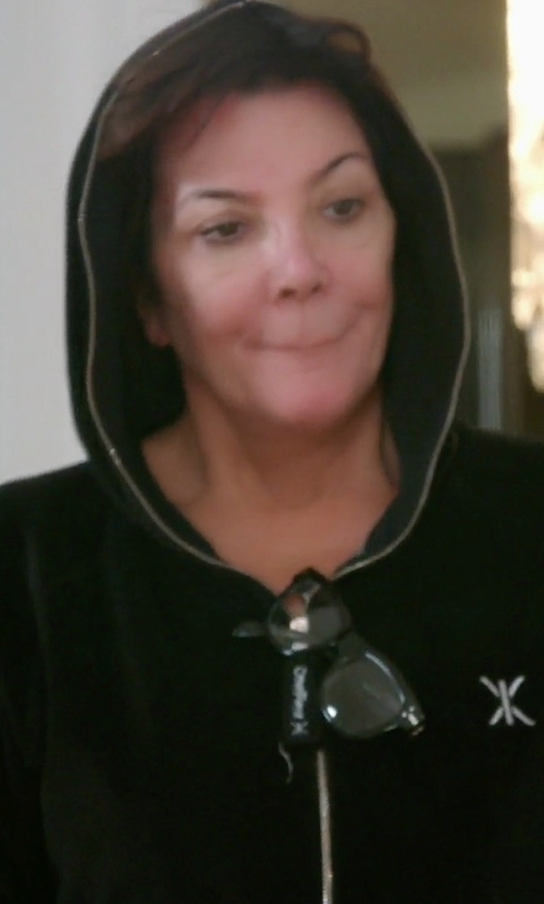 Kris Jenner with Onepiece Original Slim Onesie Jumpsuit in Keeping Up With The Kardashians