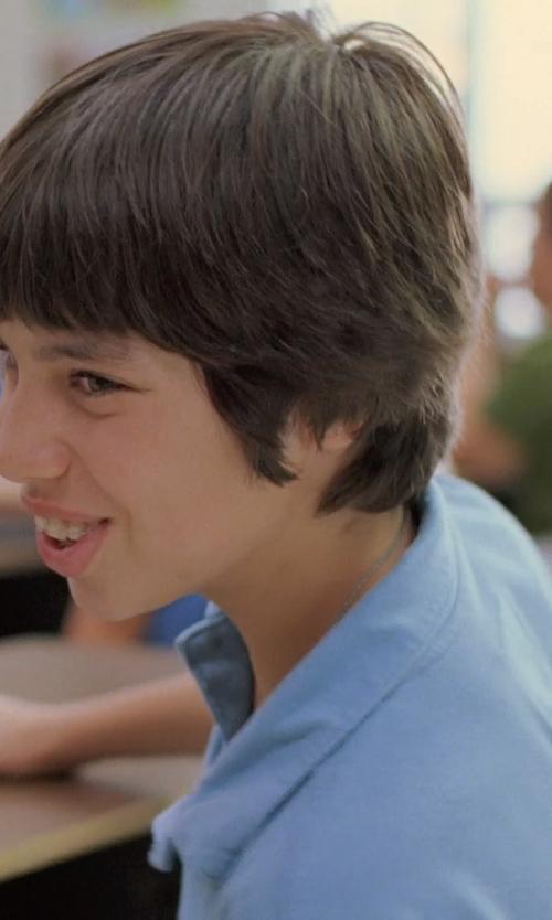 Unknown Actor with Ralph Lauren Childrenswear Short-Sleeve Pima Polo Shirt in Boyhood