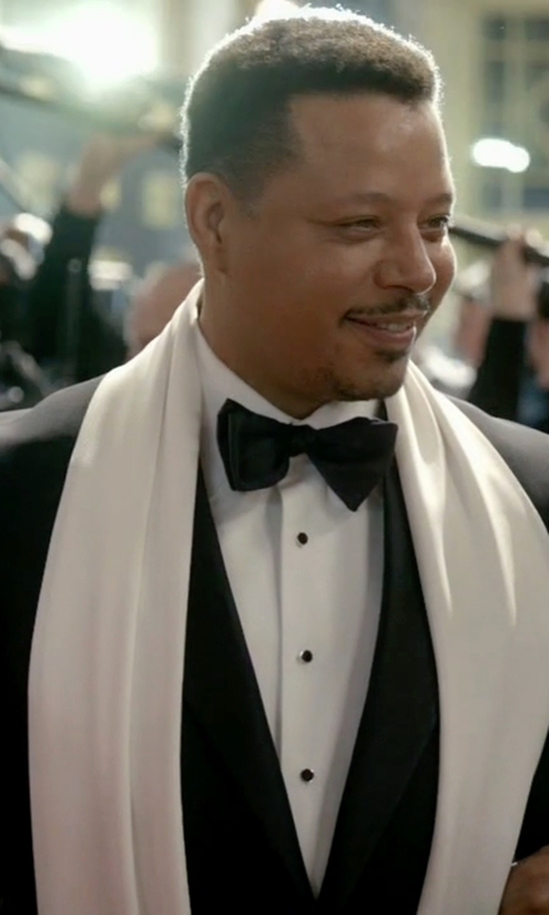 Terrence Howard  with Boss Trim Fit Wool Tuxedo Suit in Empire