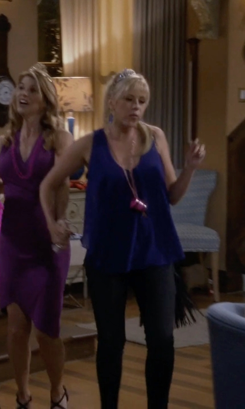 Jodie Sweetin with True Light Racerback Top in Fuller House