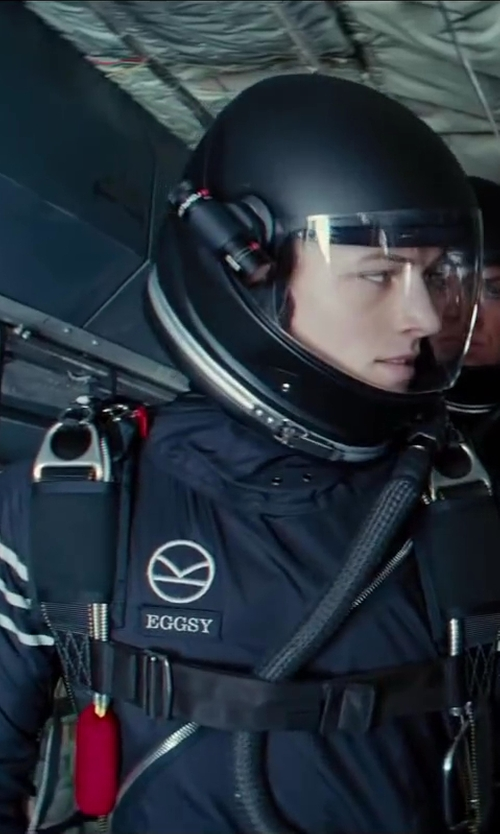 Taron Egerton with Liquid Sky Lunar Freefly Suit in Kingsman: The Secret Service
