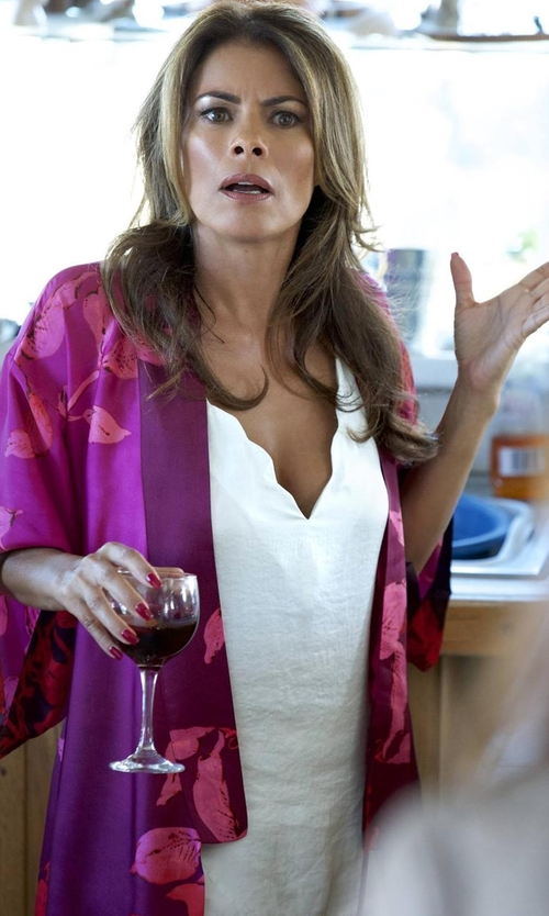 Lisa Vidal with Only Hearts Delicious Deep V-Neck Tank Top in Rosewood