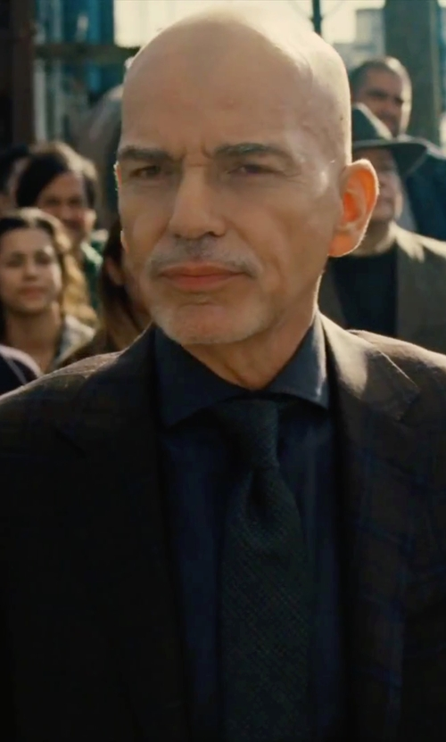Billy Bob Thornton with Tom Ford	 Classic Solid Dress Shirt in Our Brand Is Crisis