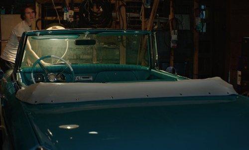 Luke Bracey with Buick 1954 Skylark Model 100 Convertible Car in The Best of Me
