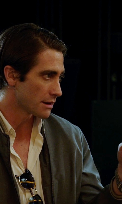 Jake Gyllenhaal with Breitling Chronomat Watch in Nightcrawler