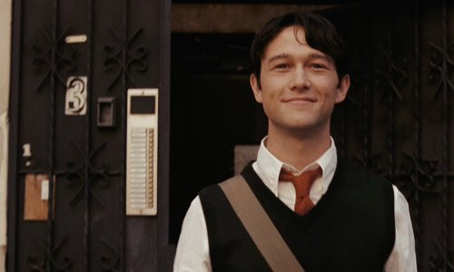 Joseph Gordon-Levitt with Canadian Building Los Angeles, California in (500) Days of Summer