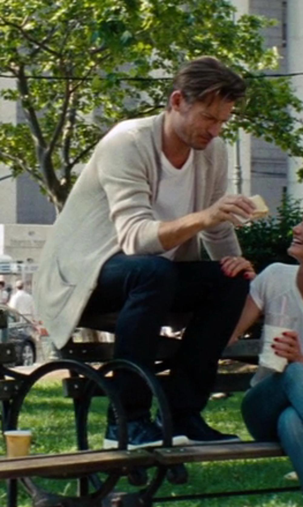 Nikolaj Coster-Waldau with Dolce & Gabbana Low Sneakers in The Other Woman