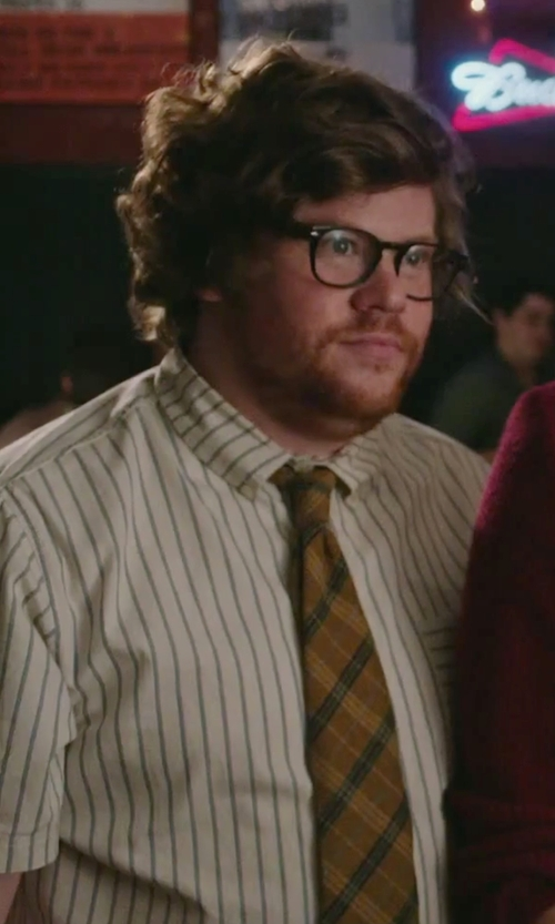 Zack Pearlman with Melindagloss Stripe Shirt in The Intern