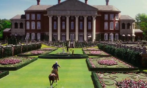 Unknown Actor with Centennial Park (depicted as Buchanan Estate) Sydney, Australia (depicted as Old Westbury, New York) in The Great Gatsby