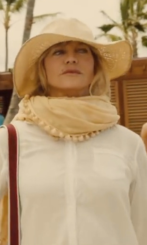 Goldie Hawn with Rails Charli Solid Shirt in Snatched
