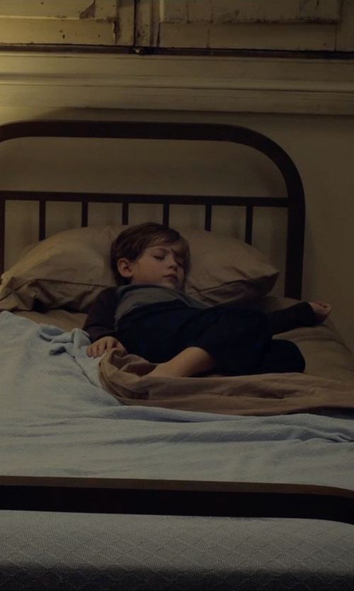 Jacob Tremblay with DC Comics Two Piece Fitted Cotton Pajamas in Before I Wake