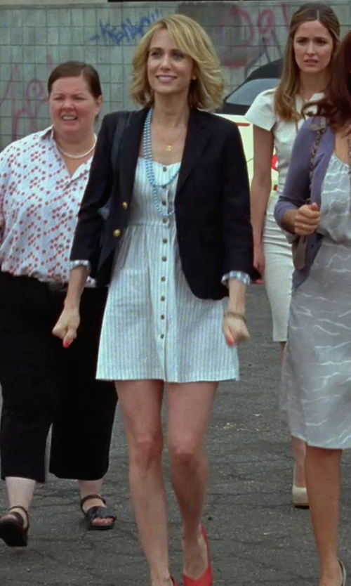 Kristen Wiig with Hogan Ballet Flats in Bridesmaids