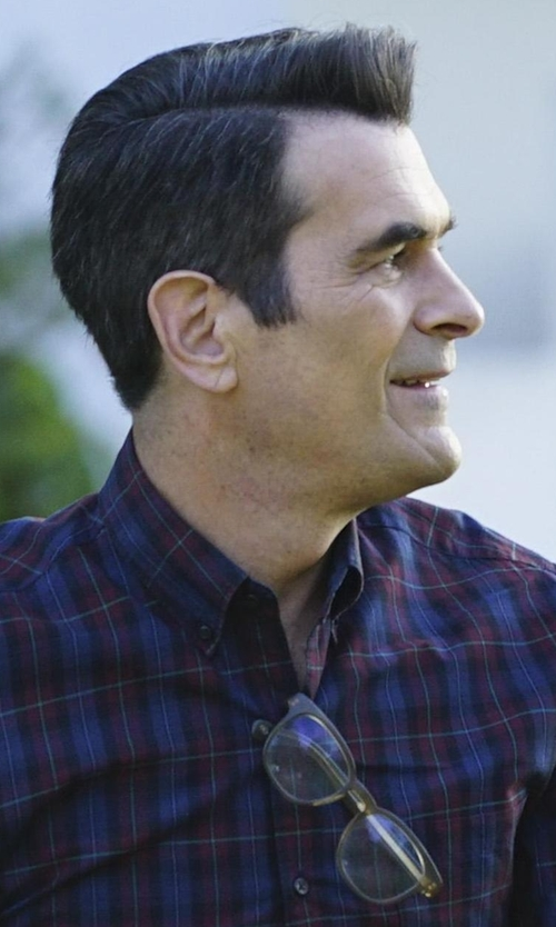 Ty Burrell with Tom Ford Eyewear 5147 Acetate Optical Frames in Modern Family