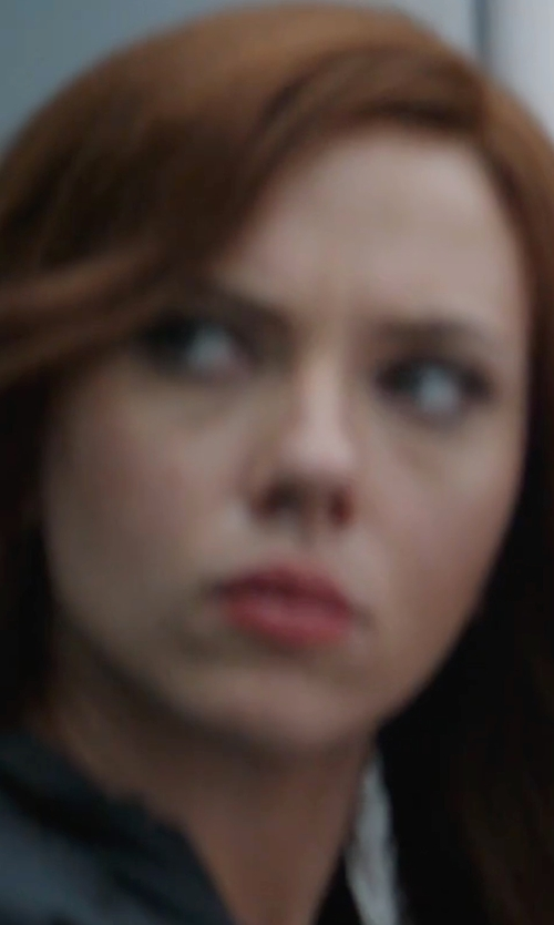 Scarlett Johansson with Marmot Prodigy Windstopper Jacket in Captain America: Civil War