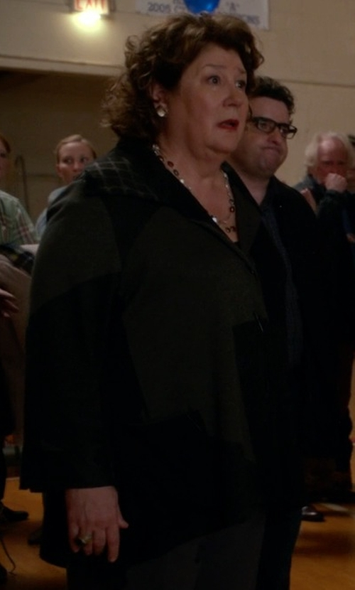 Margo Martindale with Equipment Jay Wool Blazer in The Good Wife