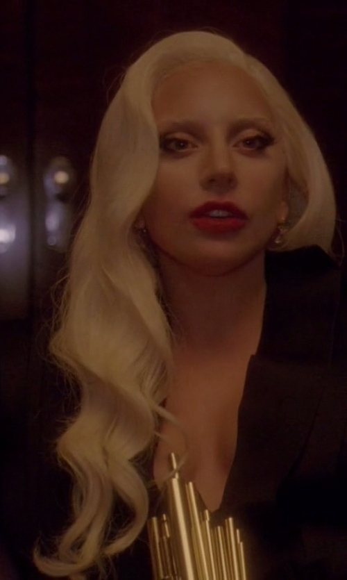 Lady Gaga with Stéphane Rolland Fall/Winter 2011/2012 - Haute Couture Gown in American Horror Story