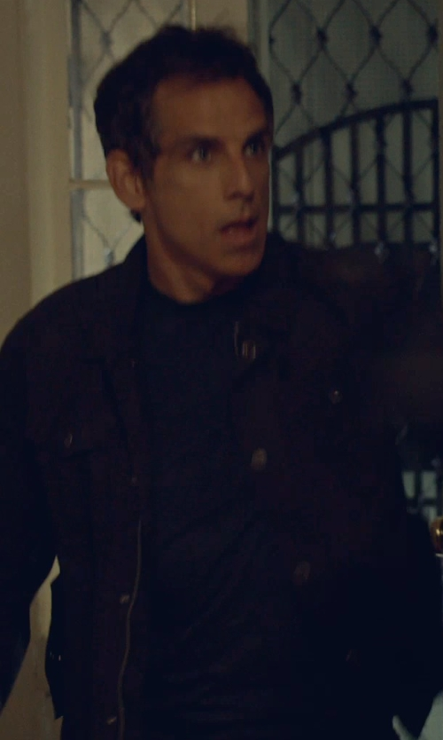 Ben Stiller with T by Alexander Wang Classic Short Sleeve Tee in While We're Young