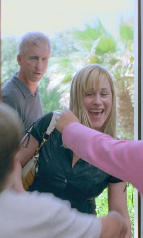 Patricia Arquette with LAUREN by Ralph Lauren Morrison Double Zip Hobo Bag in Boyhood