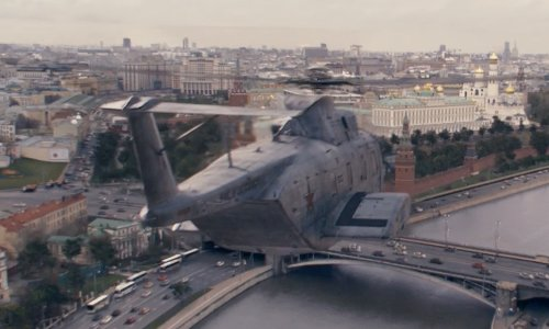 Unknown Actor with Sikorsky HH-3E Jolly Green Giant Helicopter in Fast & Furious 6