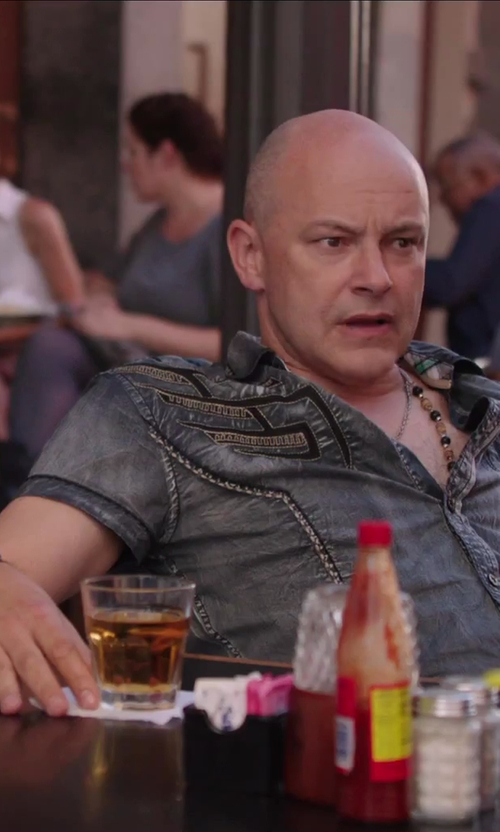 Rob Corddry with Kate Spade New York Two Of A Kind Mine and Yours DOF Double On Rocks in Hot Tub Time Machine 2