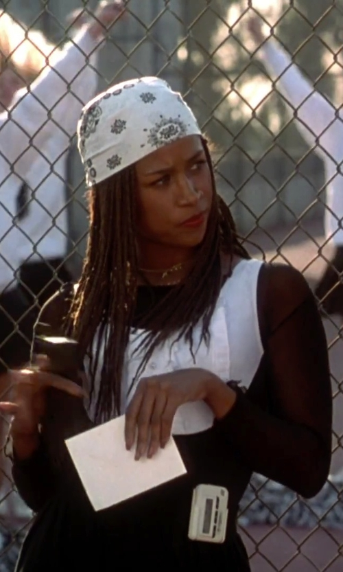 Stacey Dash with Urban Outfitters Basic Bandana in Clueless