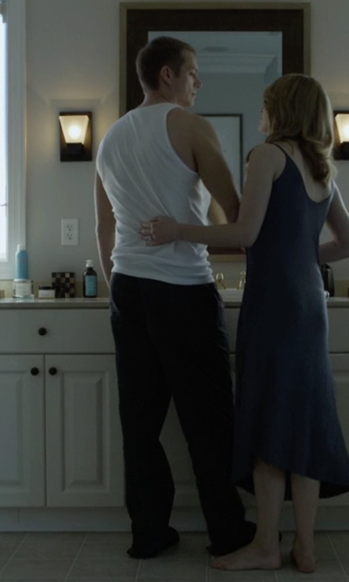 Joel Kinnaman with Hanro Jules Woven Long Pant in House of Cards