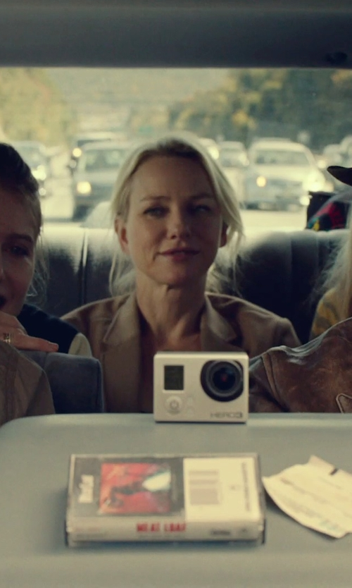 Naomi Watts with Theory Gabe B 2 Urban One-Button Blazer in While We're Young