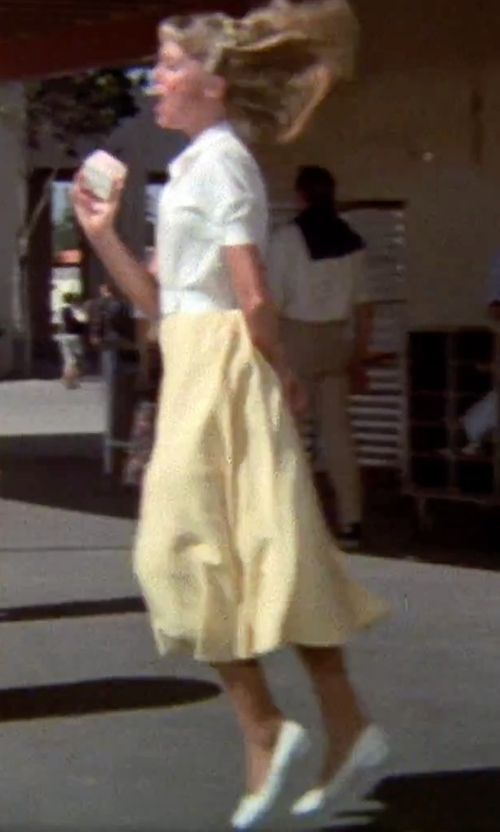 Olivia Newton-John with Keds Back To The Basics Sneaker in Grease
