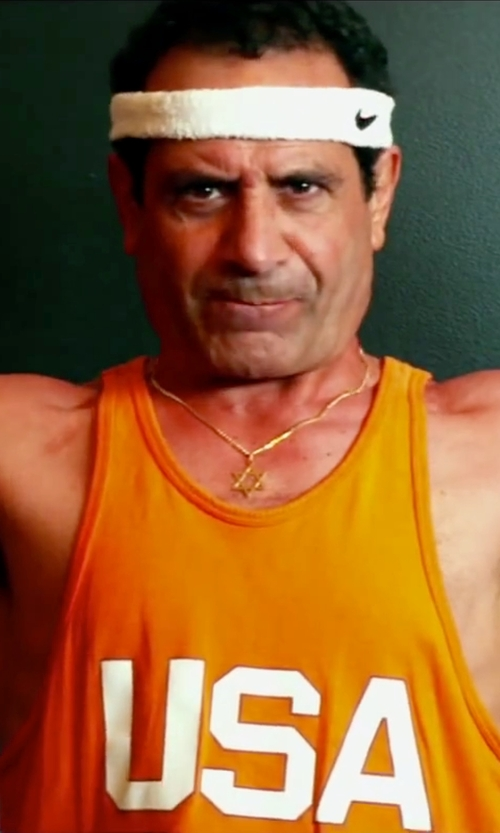 Tony Shalhoub with Nike Swoosh Headband in Pain & Gain