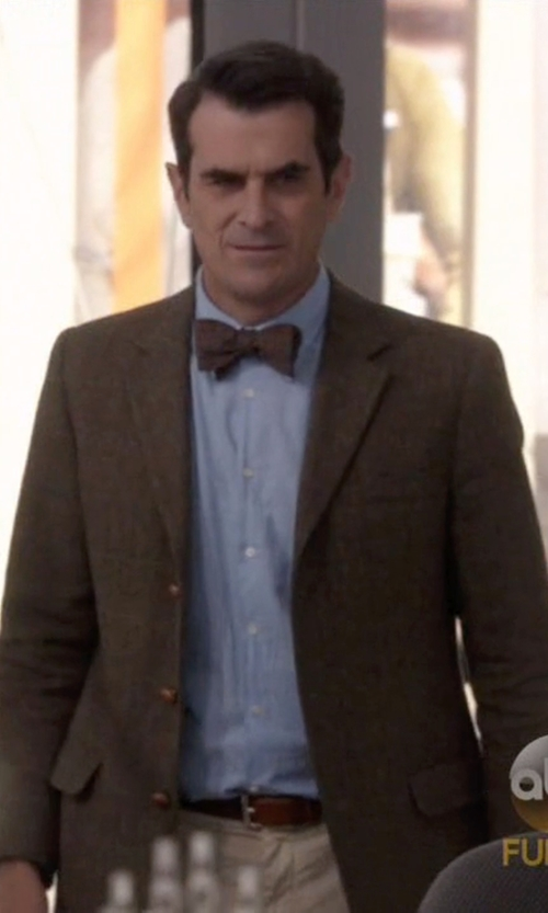 Ty Burrell with J.Crew Ludlow Suit Jacket In English Donegal Tweed in Modern Family