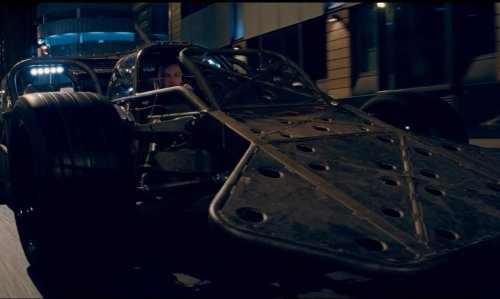 Luke Evans with Dennis McCarthy Custom Built Ramp Car in Fast & Furious 6