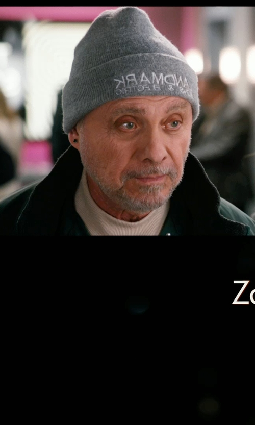 Hector Elizondo with Calvin Klein Poly Bonded Jacket in New Year's Eve
