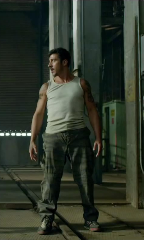 David Belle with NIKE Air Flight Falcon 397204-066 in Brick Mansions