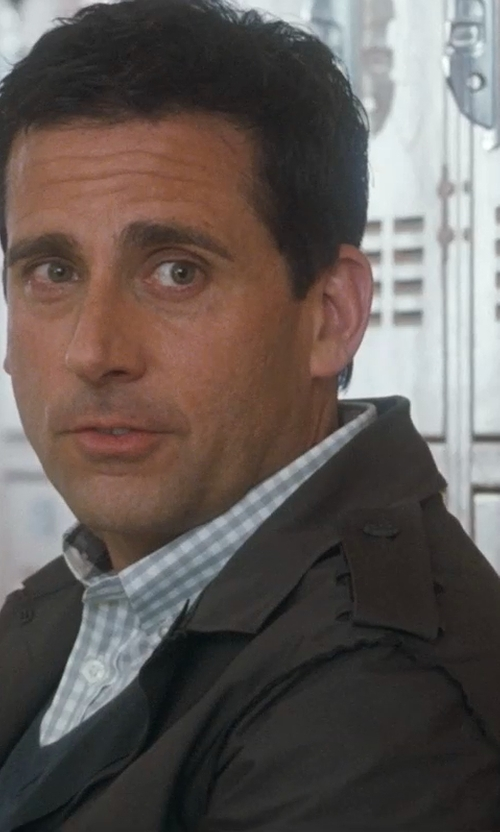 Steve Carell with Members Only Bond Racer Jacket in Crazy, Stupid, Love.