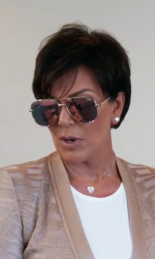 Kris Jenner with Ray-Ban Original Aviator Sunglasses in Keeping Up With The Kardashians