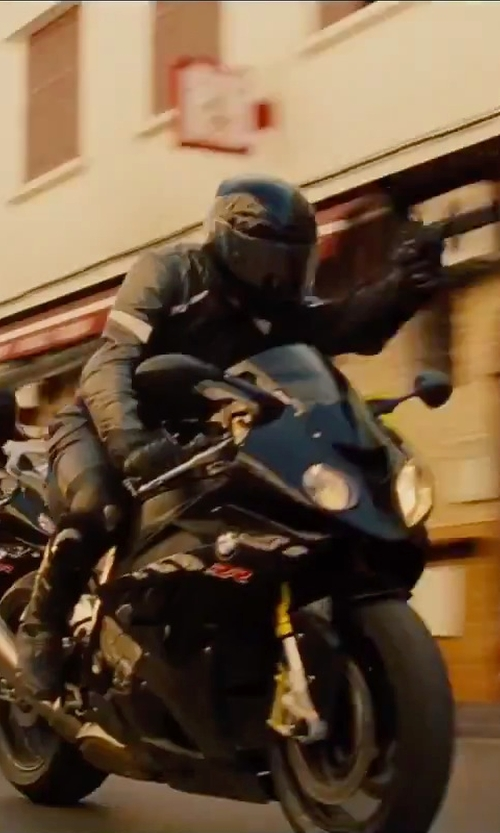No Actor with BMW Genuine Motorcycle Riding Airflow Jacket in Mission: Impossible - Rogue Nation